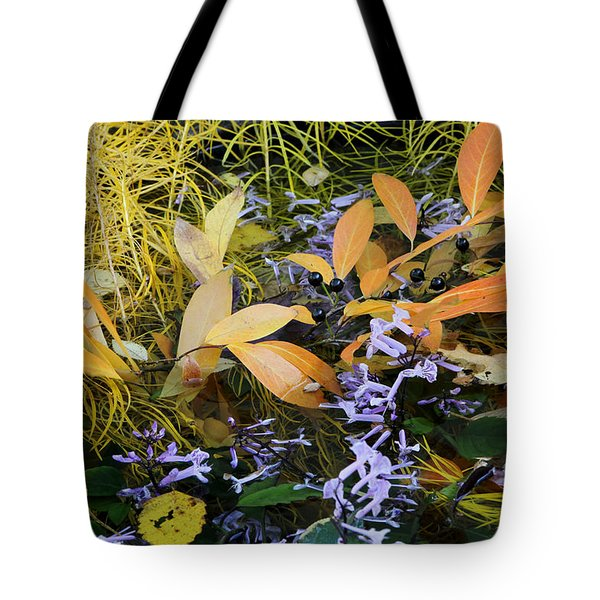 Tote Bag featuring the photograph Fall Color Soup by Deborah  Crew-Johnson