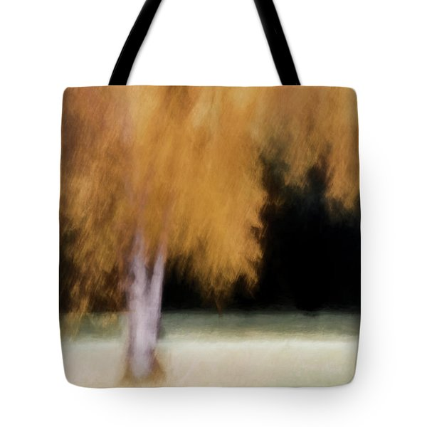 Fall Color With Painterly Effect Tote Bag