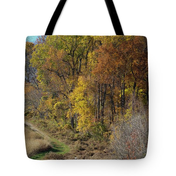 Fall Colors As Oil Tote Bag