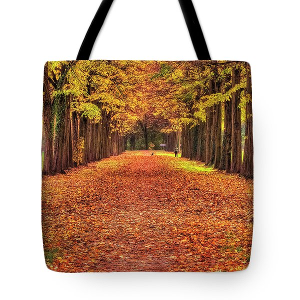 Fall Colors Avenue Tote Bag