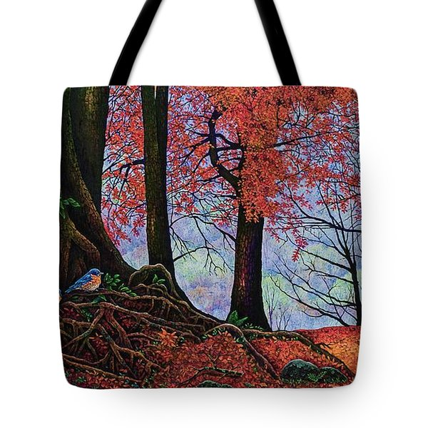 Fall Colors II Tote Bag by Michael Frank