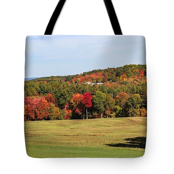 Fall Colors In Easthampton Tote Bag