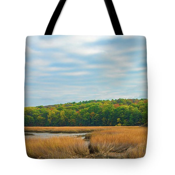 Fall Colors In Edgecomb Tote Bag