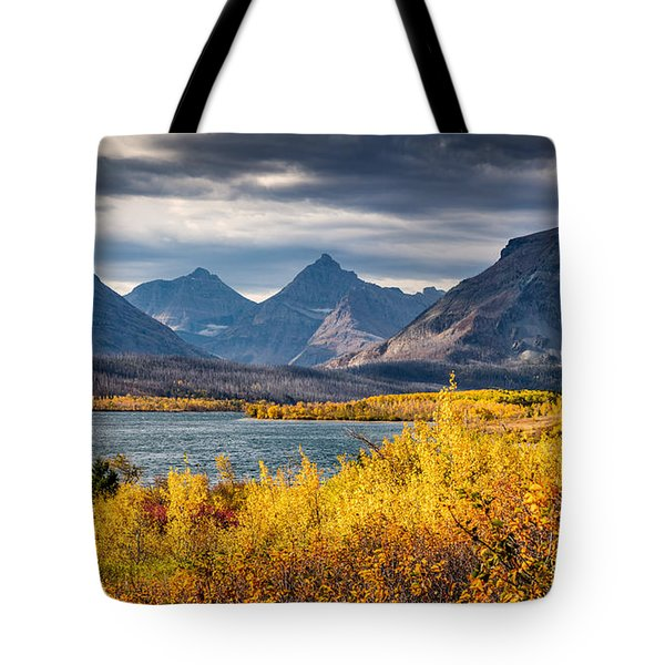 Fall Colors In Glacier National Park Tote Bag