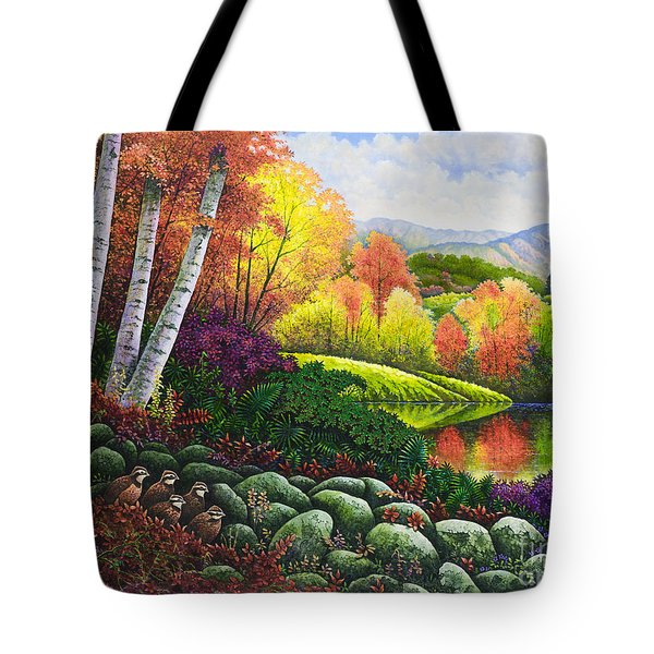 Fall Colors Tote Bag by Michael Frank