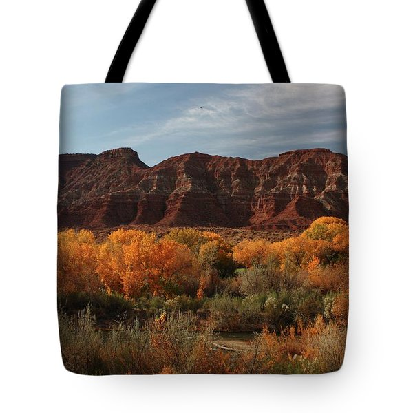 Fall Colors Near Zion Tote Bag