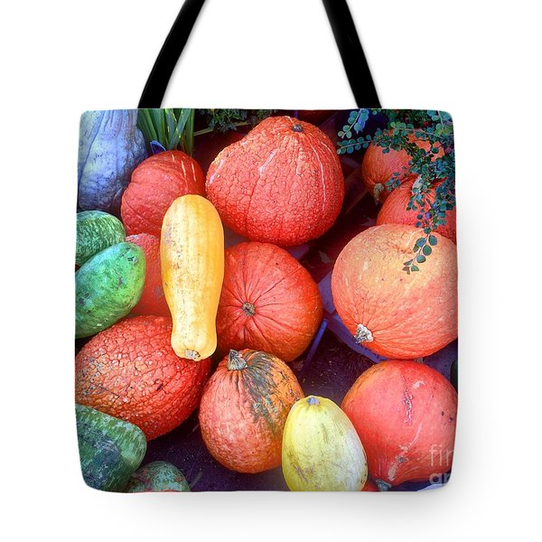 Fall Colors Pumpkins And Gords 6 Tote Bag