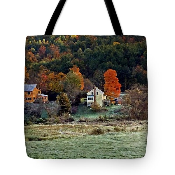 Fall Country Side - Vt2015 Tote Bag