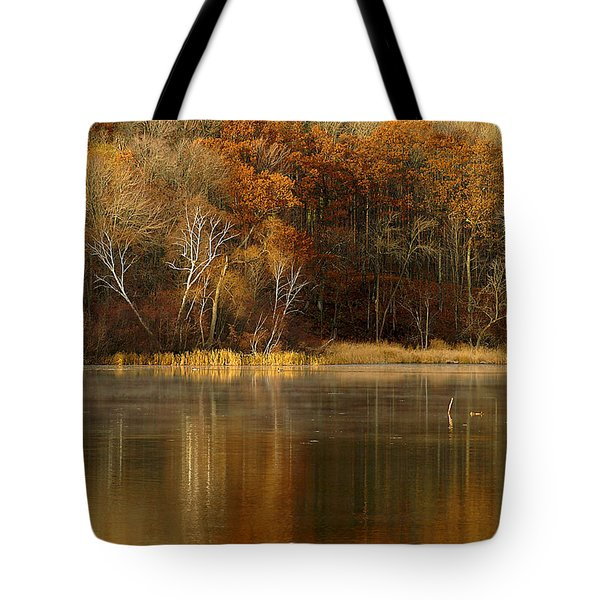 Fall Cove Tote Bag