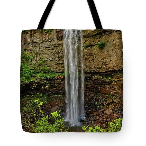 Tote Bag featuring the photograph Fall Creek Falls by Christopher Holmes