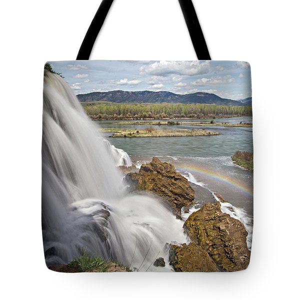 Tote Bag featuring the photograph Fall Creek Falls by Wesley Aston