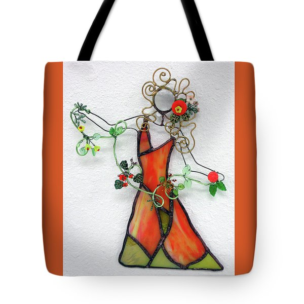 Fall Dancer Tote Bag by Maxine Grossman