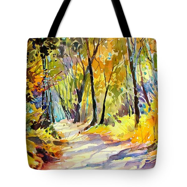 Fall Dazzle, Tennessee Tote Bag