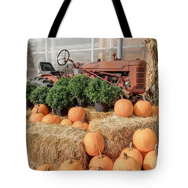 Fall Display Tote Bag