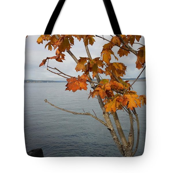 Fall Embrace Tote Bag