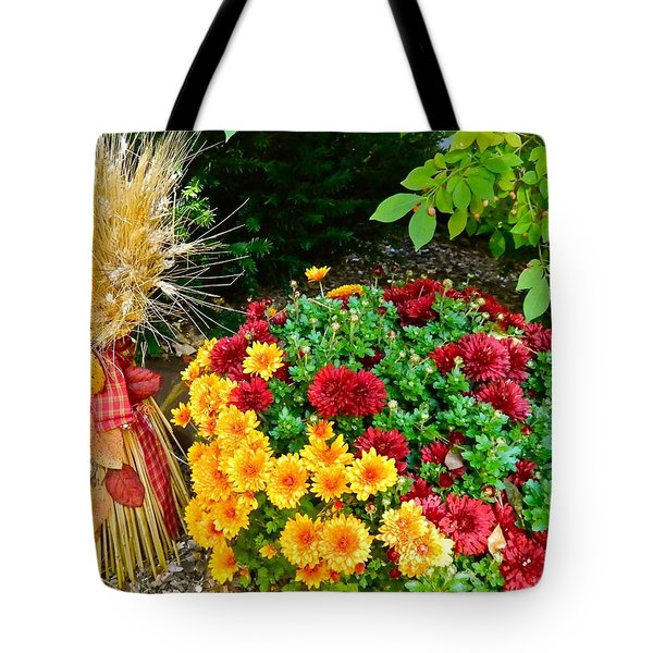 Fall Fantasy Tote Bag by Randy Rosenberger