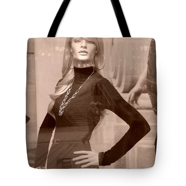 Fall Fashion Mode Tote Bag