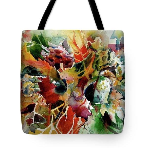 Fall Fashion Statement Tote Bag