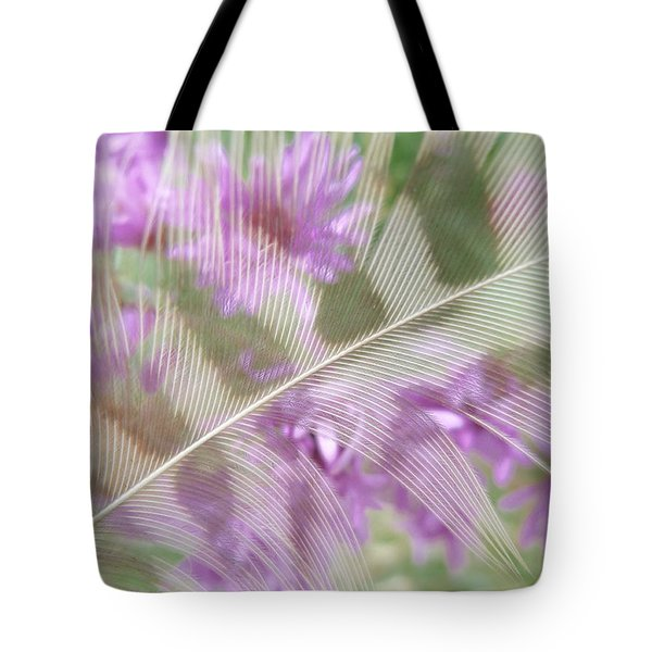Fall Feather Tote Bag