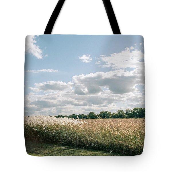 Fall Fields Tote Bag
