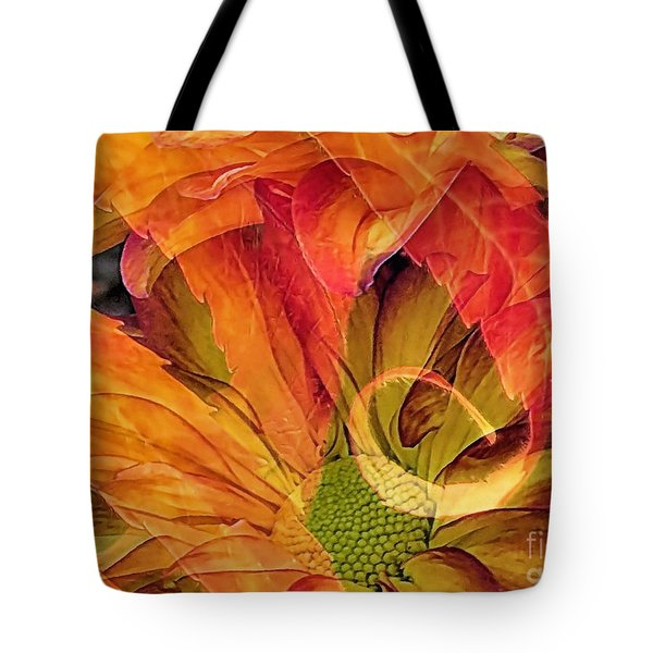 Fall Floral Composite Tote Bag by Janice Drew