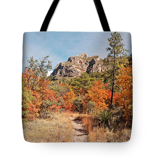 Fall Foliage Explosion At Mckittrick Canyon - Guadalupe Mountains National Park West Texas Tote Bag
