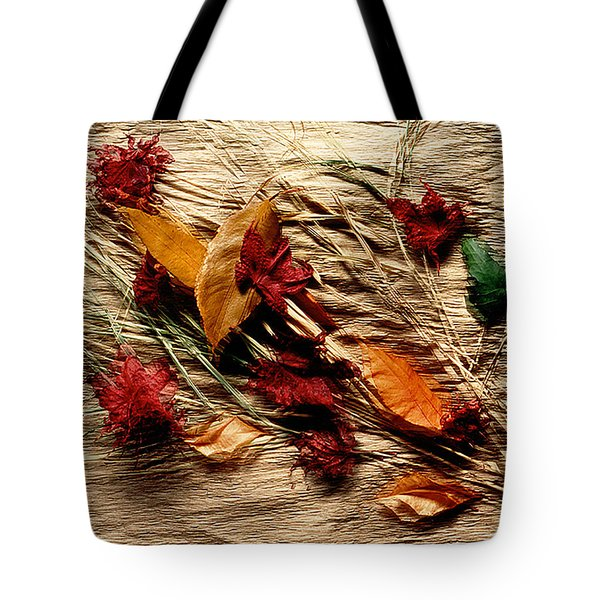 Fall Foliage Still Life Tote Bag