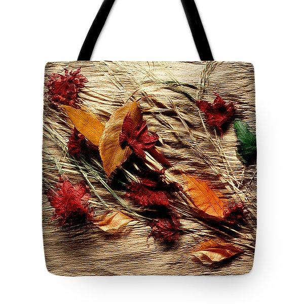 Fall Foliage Still Life Tote Bag