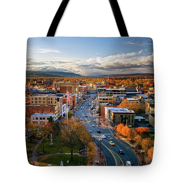 Fall Frontier Tote Bag