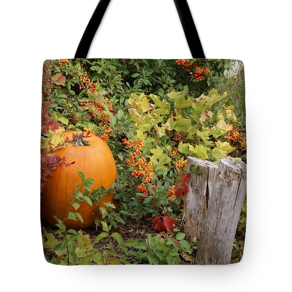 Fall Garden Tote Bag by Cynthia Powell