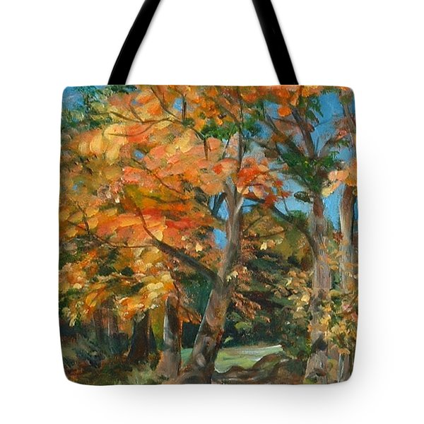 Fall Glory Tote Bag