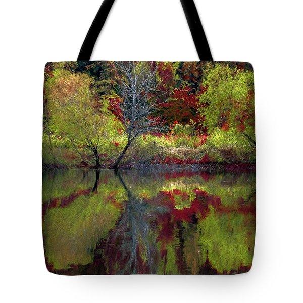 Fall Gone Wild Tote Bag