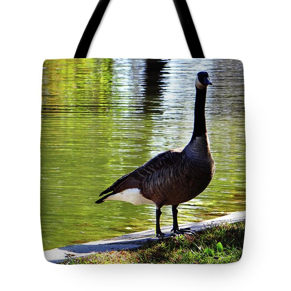 Fall Goose Tote Bag