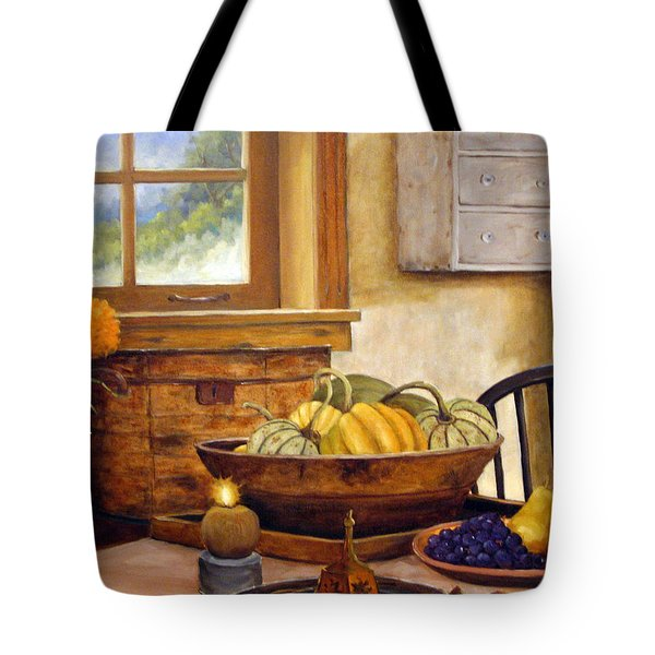 Fall Harvest Tote Bag by Richard T Pranke