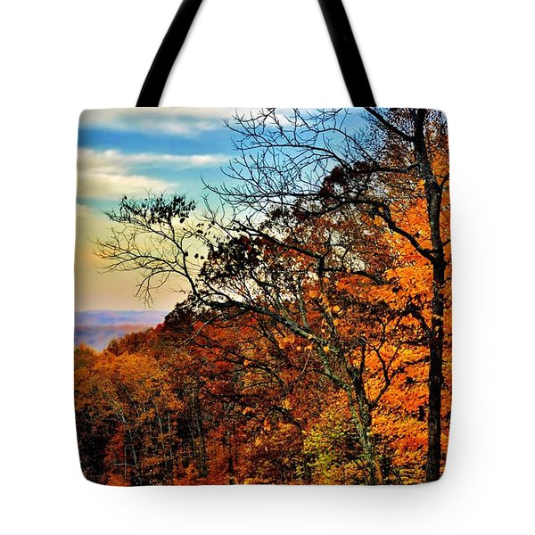 Fall Horizon Tote Bag