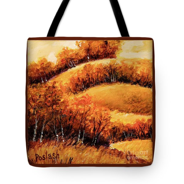Fall Tote Bag by Igor Postash
