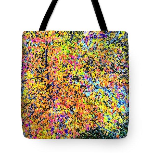 Fall Impressionism Tote Bag