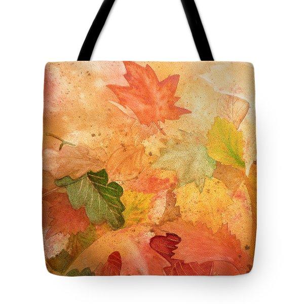 Fall Impressions Iv Tote Bag