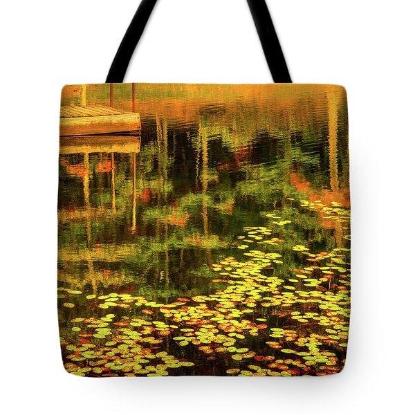 Fall Impressions Tote Bag by Rebecca Hiatt