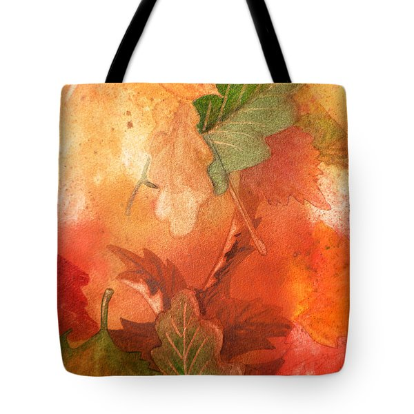 Fall Impressions V Tote Bag by Irina Sztukowski