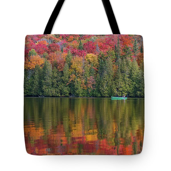 Fall In A Canoe Tote Bag