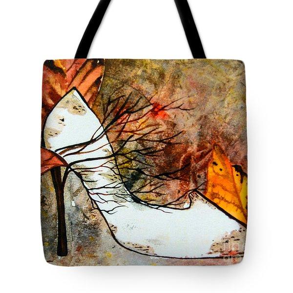 Fall In Art Tote Bag