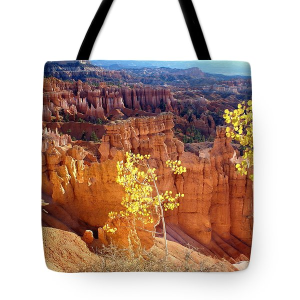 Fall In Bryce Canyon Tote Bag by Marty Koch