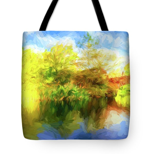 Tote Bag featuring the photograph Fall In Central Park by Jim  Hatch