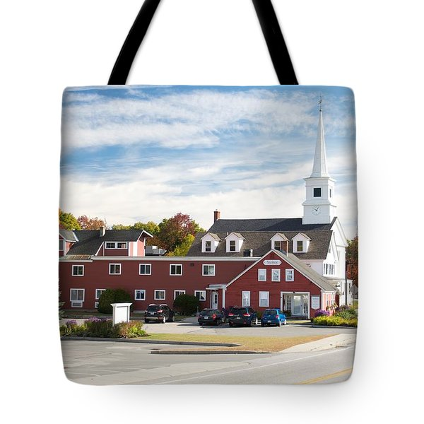 Fall In Dublin Nh Tote Bag