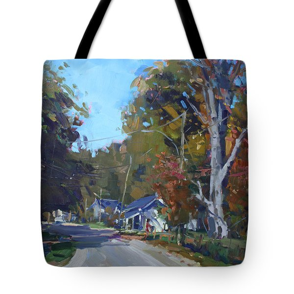 Fall In Glen Williams On Tote Bag