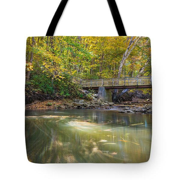 Fall In Motion Tote Bag