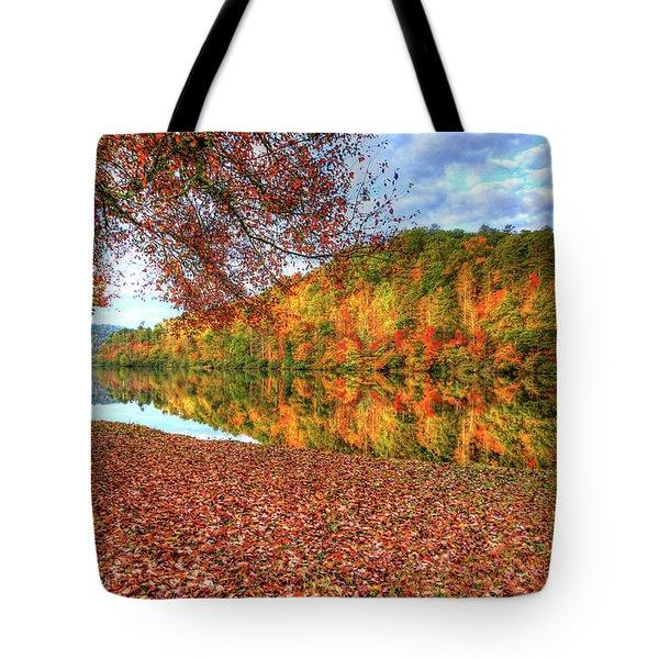 Fall In Murphy, North Carolina Tote Bag