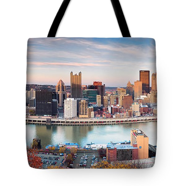 Fall In Pittsburgh  Tote Bag