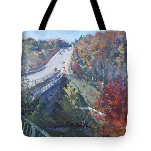 Fall In Silver Creek Georgetown  Tote Bag